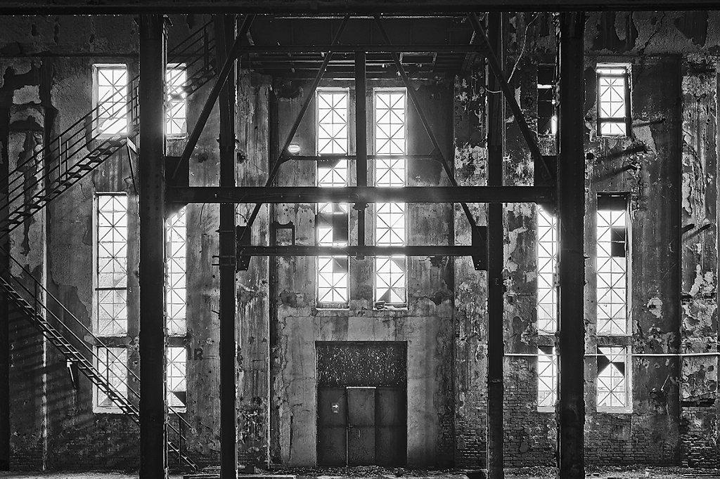 Old Coal  Power Station - Boiler room